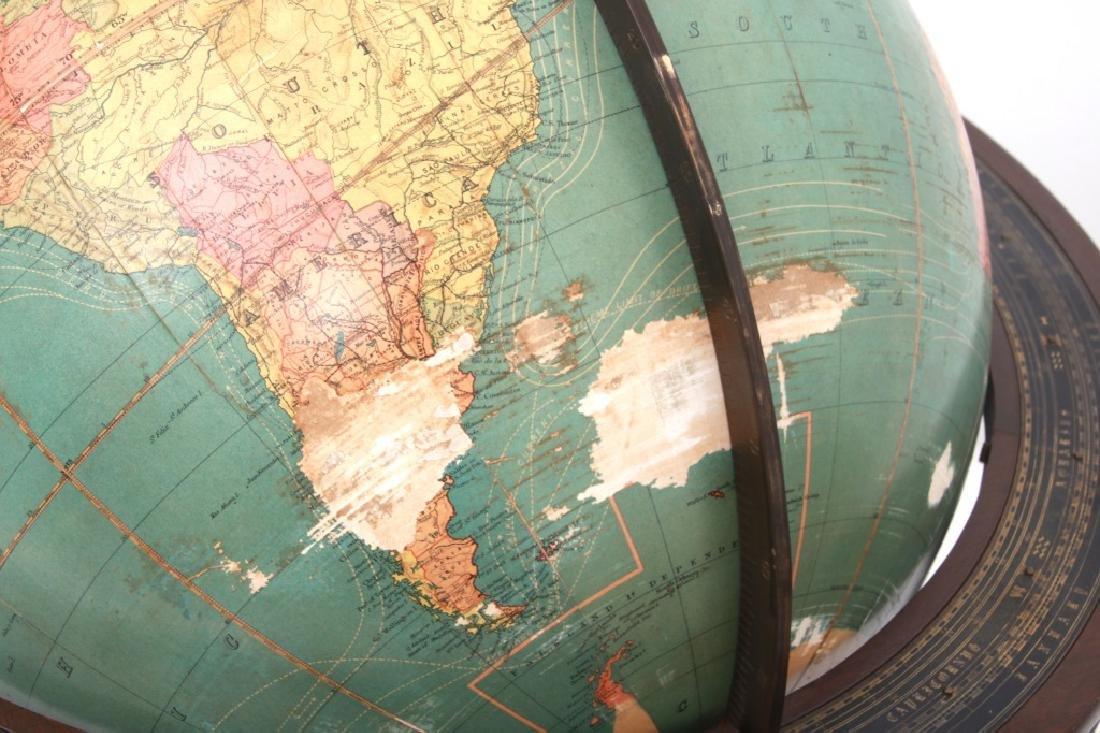 18 in. Index Globe Co. Mechanical Floor Globe - 9
