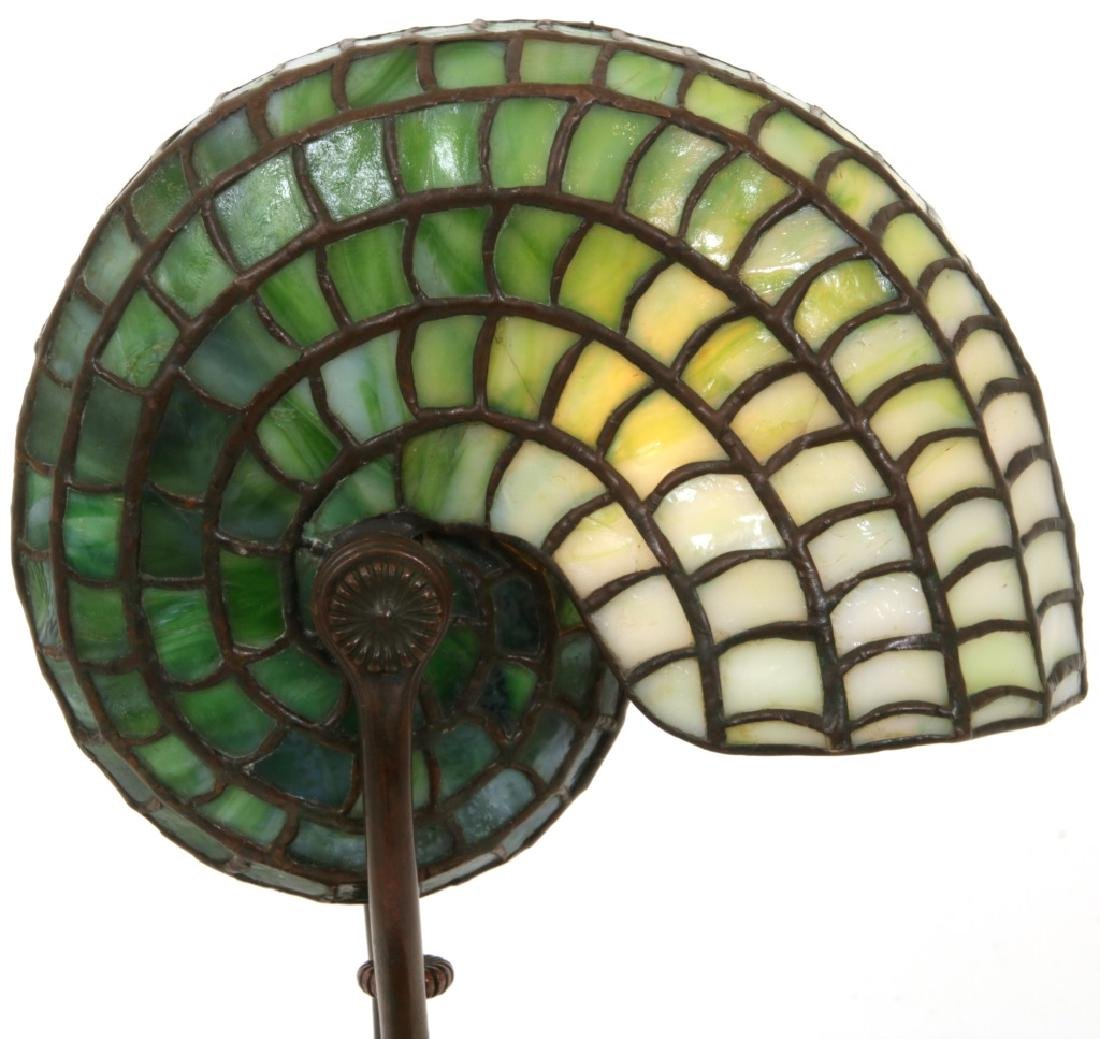 Tiffany Studios Leaded Nautilus Desk Lamp - 2