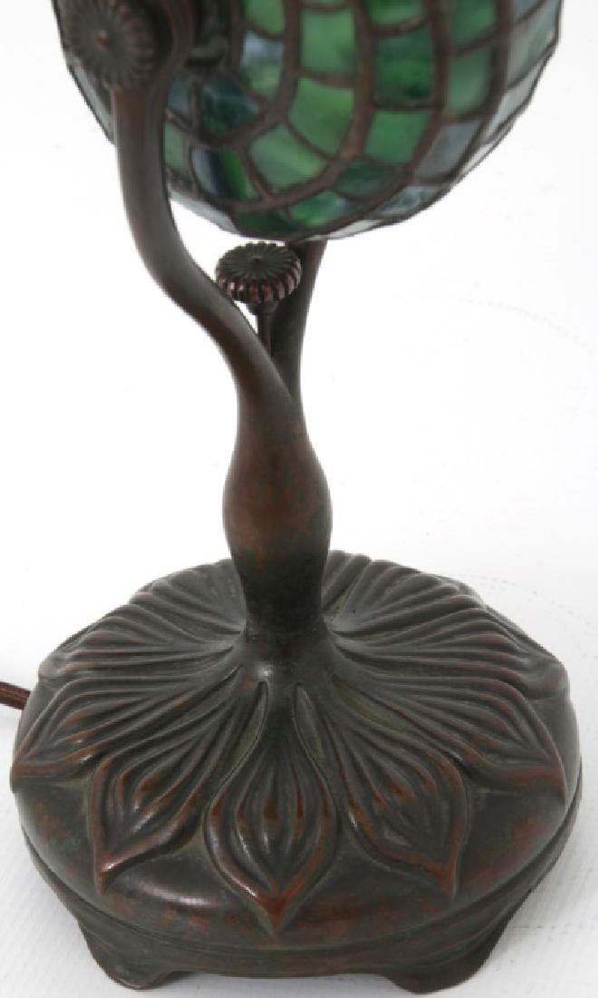 Tiffany Studios Leaded Nautilus Desk Lamp - 5
