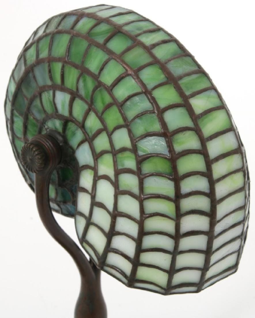 Tiffany Studios Leaded Nautilus Desk Lamp - 6