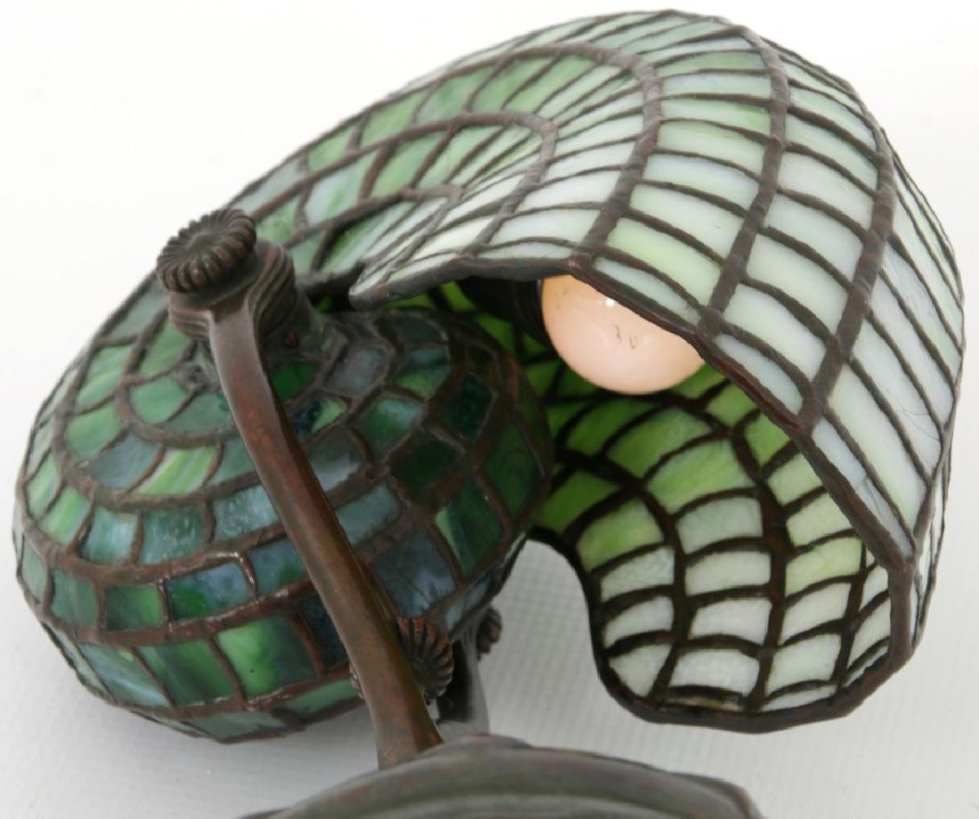 Tiffany Studios Leaded Nautilus Desk Lamp - 9