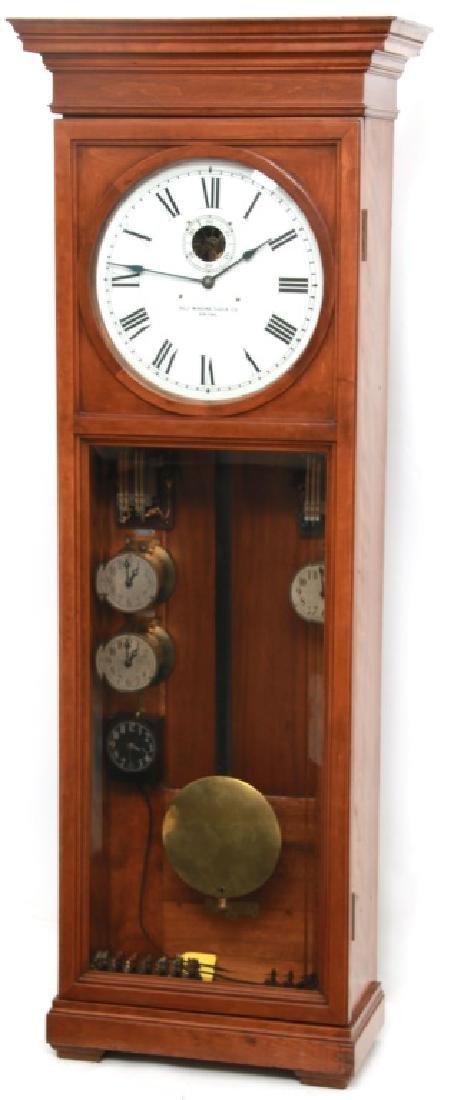Self Winding Clock Co. Master Wall Regulator