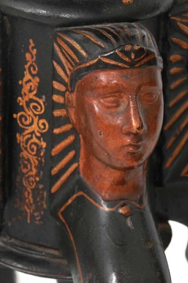 Herring & Co. Egyptian Revival Safe - 8