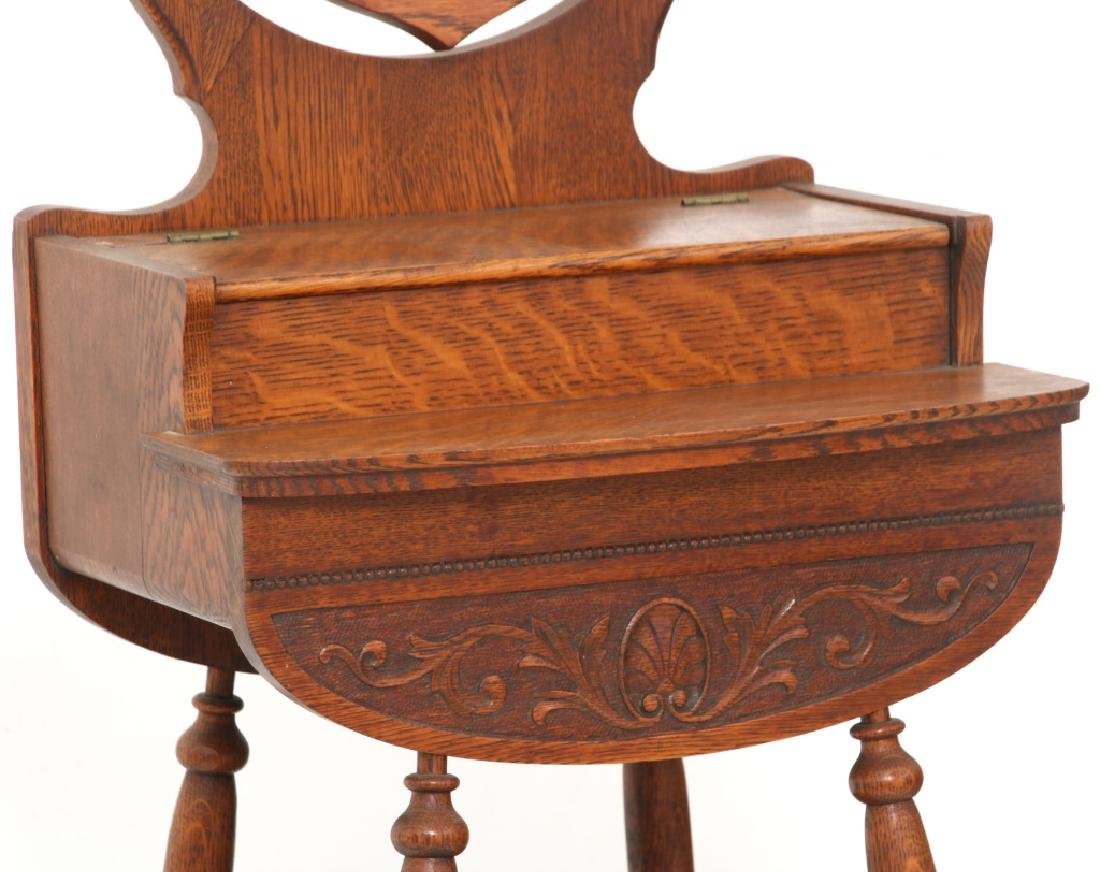 Paine Furniture Co. Oak Shaving Stand - 2