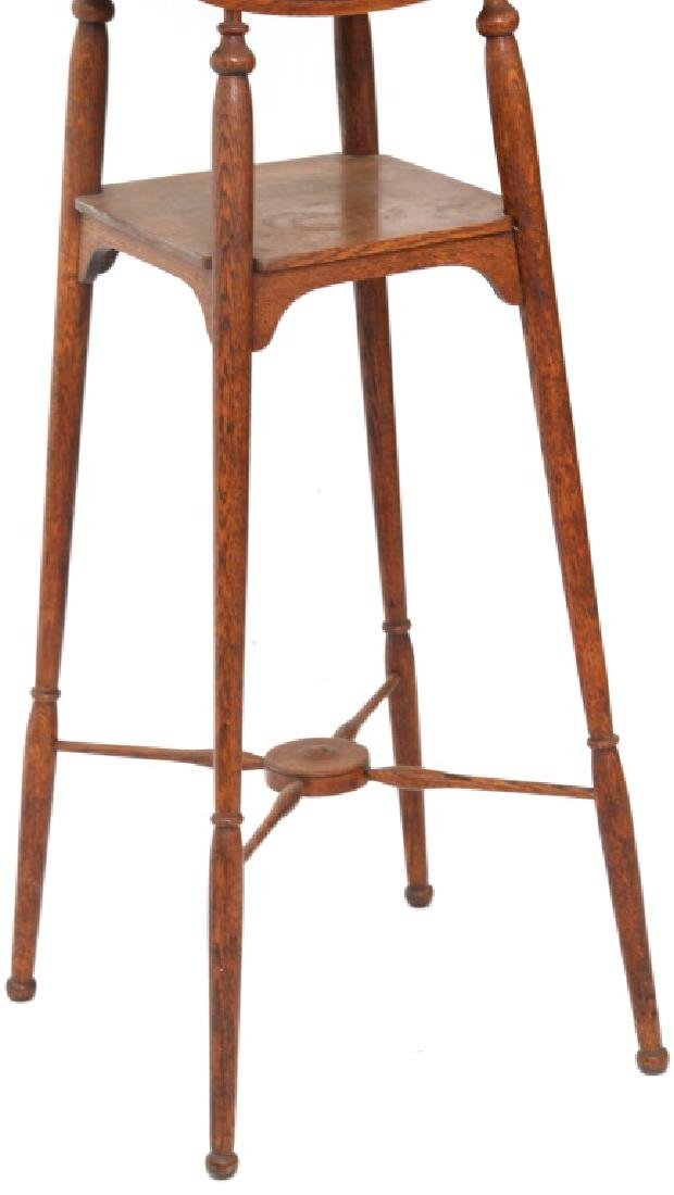 Paine Furniture Co. Oak Shaving Stand - 3