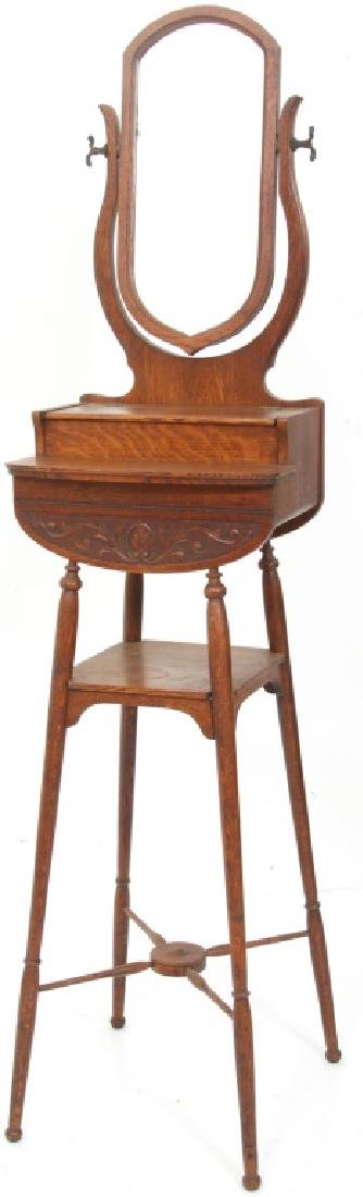 Paine Furniture Co. Oak Shaving Stand - 4