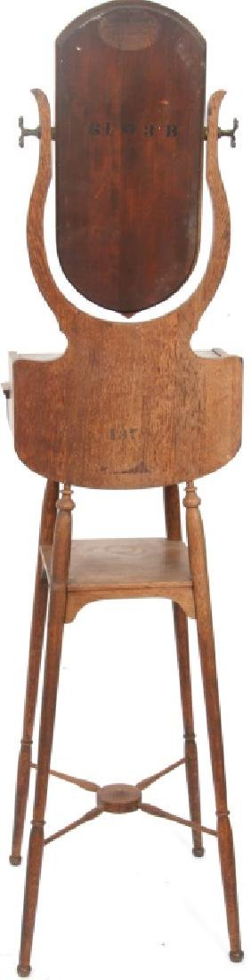 Paine Furniture Co. Oak Shaving Stand - 6