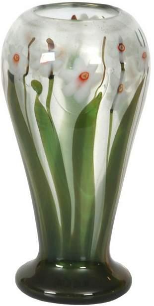 Tiffany Studios Jonquil Paperweight Vase