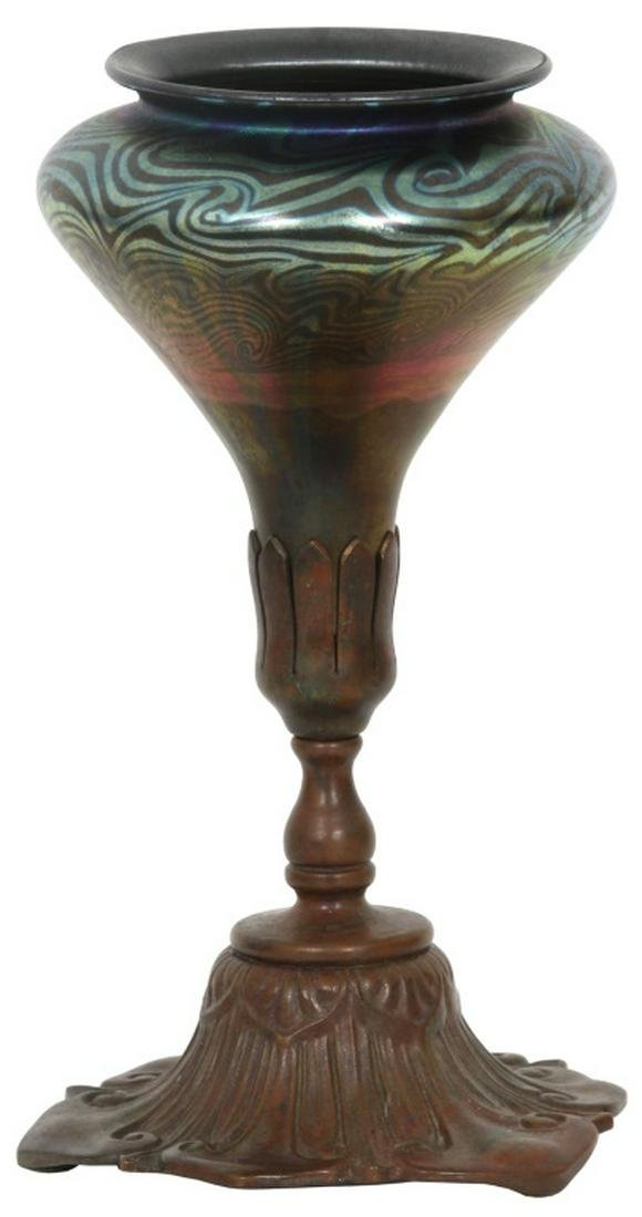 Tiffany Furnaces Desk Lamp