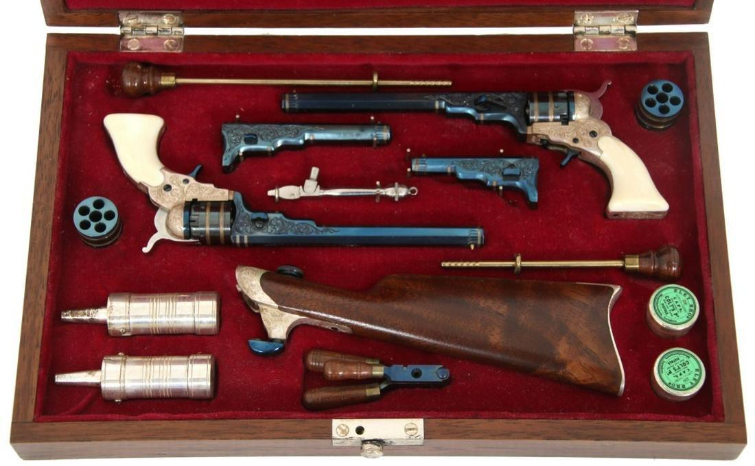 Larry Smith Miniature Colt Paterson Revolvers