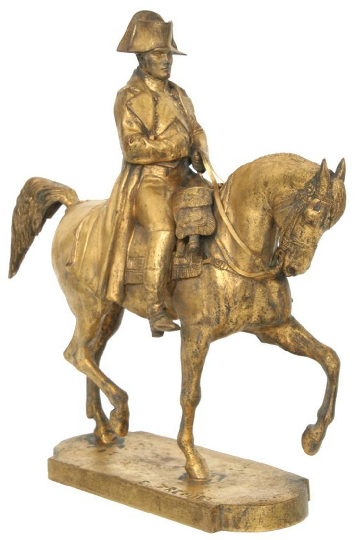 E. Fremiet (French, 1824-1910), Napoleon Bronze