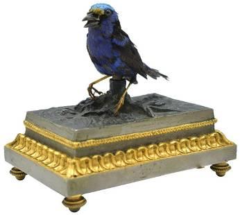 Singing Bird Automaton on Base