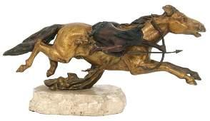 Carl Kauba (Austrian, 1865-1922), Bronze Sculpture