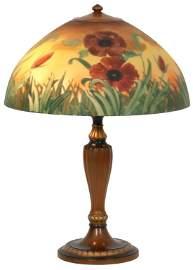 16 Inch Jefferson Poppy Table Lamp
