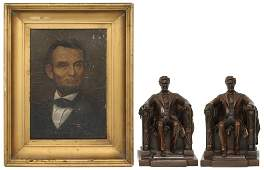 Two Piece Abraham Lincoln Lot