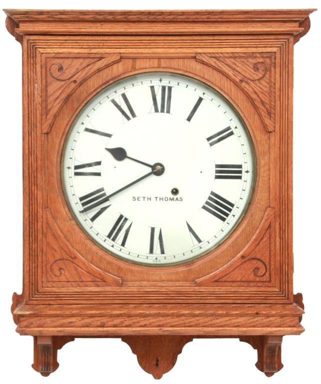 Seth Thomas Office No. 5 Wall Clock