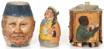 Lot of Figural Pottery Pieces