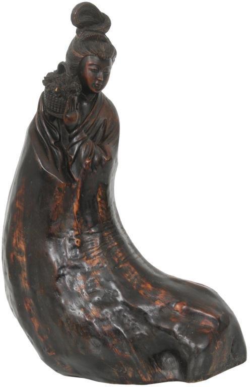 Asian Wooden Sculpture