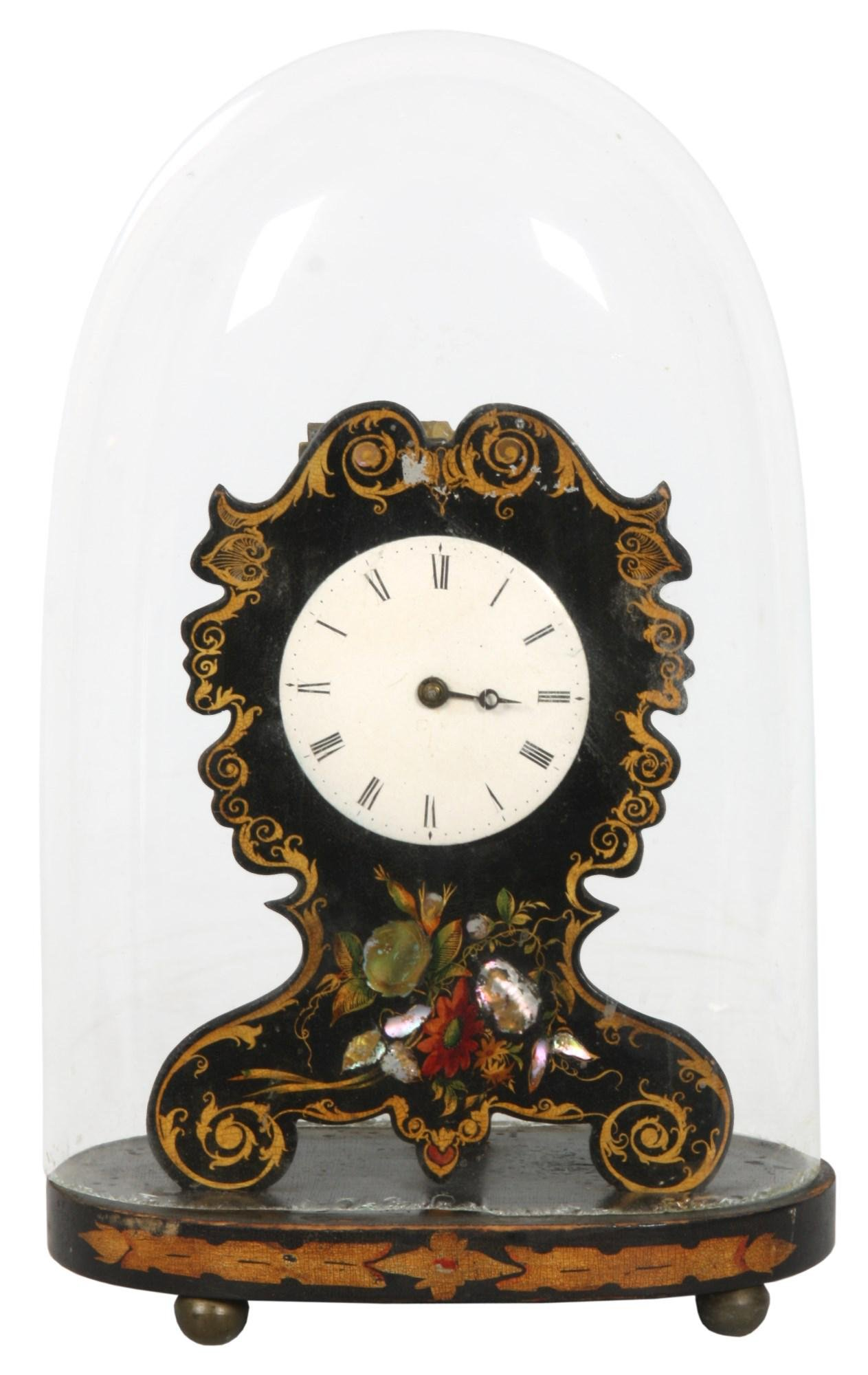 Coe & Co. Brass Front Lever Clock