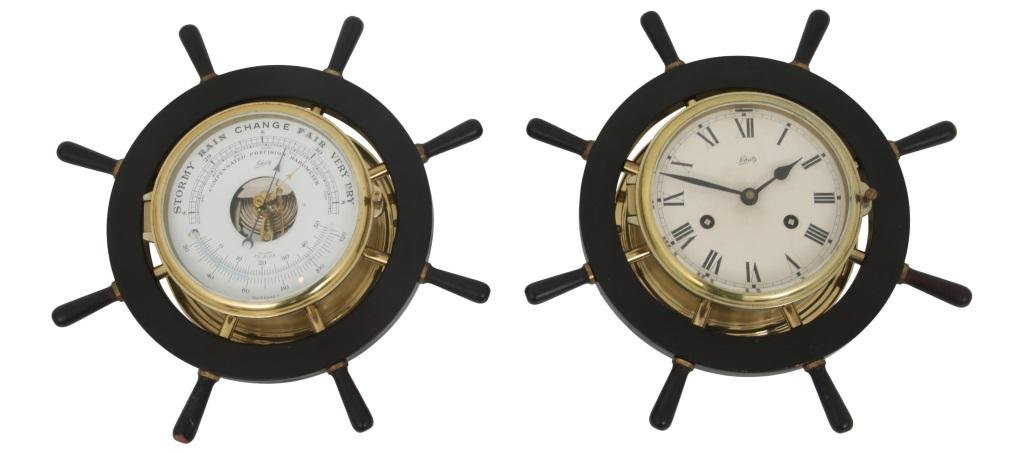 Schatz Ship's Clock & Barometer