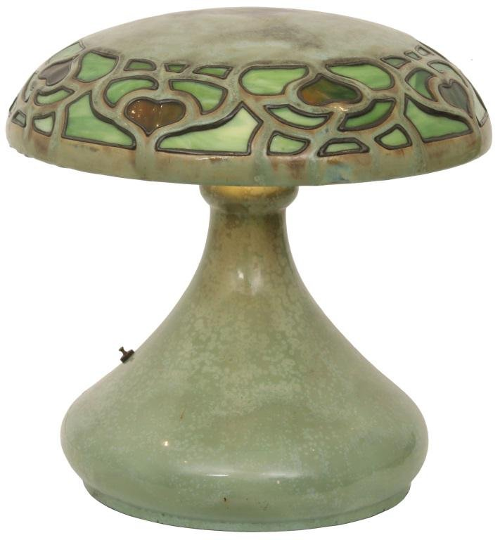 Fulper Vasekraft Art Pottery Lamp