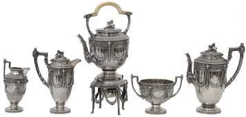 Mappin  Webb Sterling Silver Tea Set