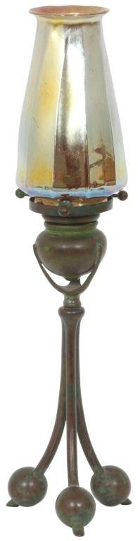 Tiffany Studios Candle Lamp