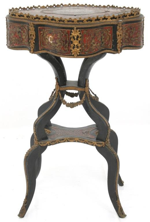 Napoleon III Boulle Inlaid Side Table