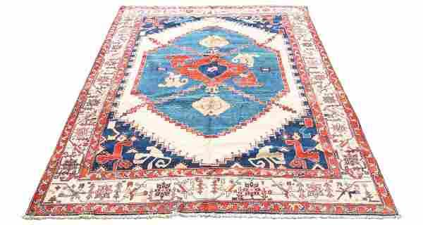Persian Heriz Room Size Rug