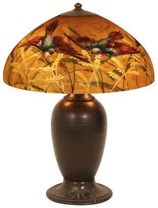 Jefferson Reverse Painted Table Lamp