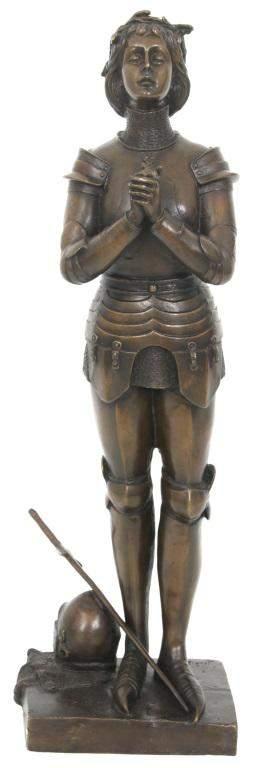 Bronze Sculpture of Joan of Arc