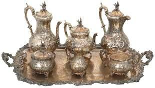 Barker Bros. Ltd. Tea & Coffee Set