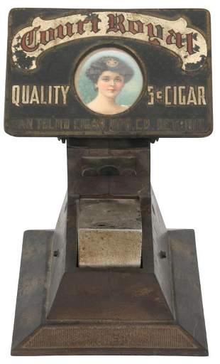 Court Royal 5-Cent Cigar Dispenser