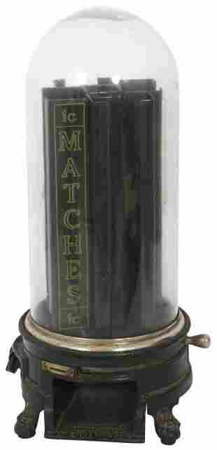 Advance Machine Co. 1-Cent Match Dispenser
