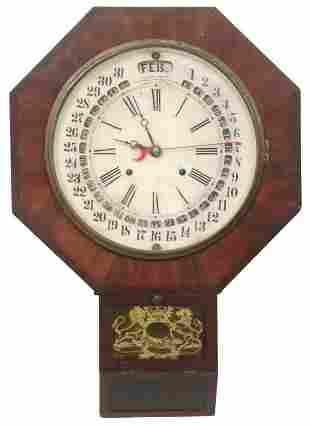 Gilbert Maranville Calendar Wall Clock