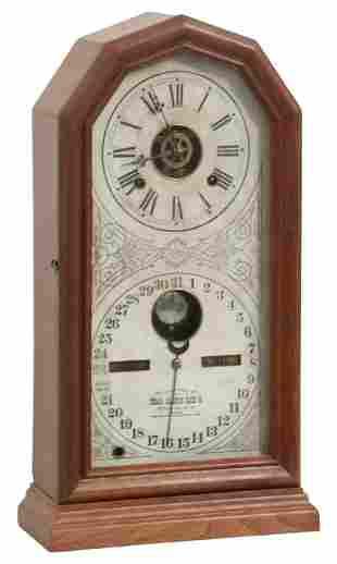 Ithaca No. 11 Calendar Clock