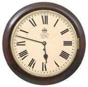 F.W. Elliot English Fusee Gallery Clock