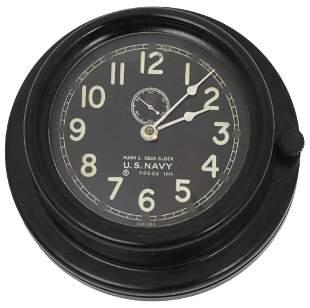 Chelsea WW2 U.S. Navy MK1 Deck Clock