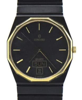 Concord Mariner Day-Date Wristwatch