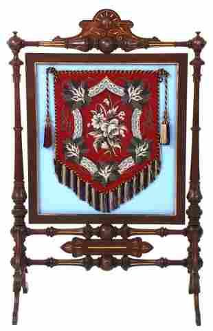 Renaissance Revival Fireplace Screen