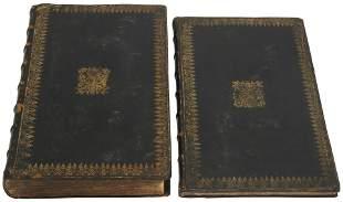 "1717 ""Vinegar Bible"" in George ll Armorial Binding"