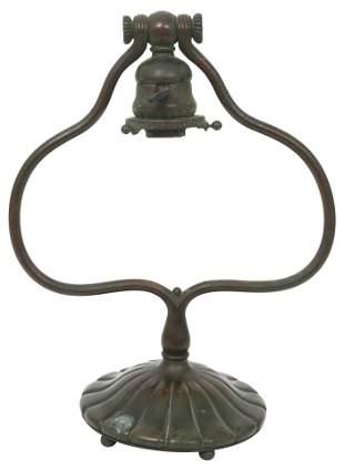 Tiffany Studios Harp Desk Lamp Base