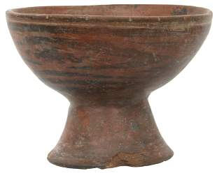 Pre-Columbian Nariño Footed Bowl