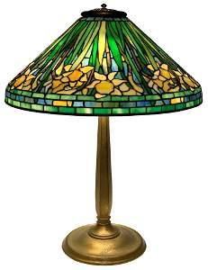 "Tiffany Studios ""Daffodil"" Table Lamp"