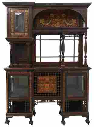 Charles Tisch Aesthetic Movement Cabinet