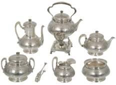 Tiffany & Co. Sterling 7-Piece Tea & Coffee Set