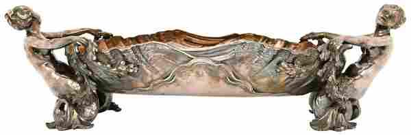 Christofle Silver Plated Bronze Centerpiece