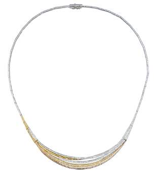 14 Karat Gold & Diamond Necklace