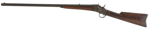 7: Whitney Rolling Block Single Shot Rifle