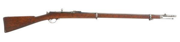 12: Berdan II Military Rifle